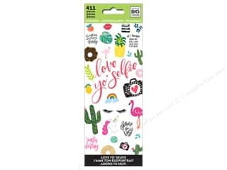 stickers: Me&My Big Ideas Sticker Value Pack Love Yo Selfie