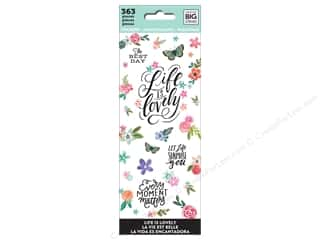 stickers: Me&My Big Ideas Sticker Value Pack Life Is Lovely