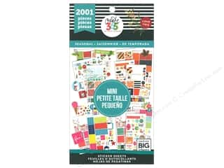 Me&My Big Ideas Happy Planner Sticker Value Pack Mini Seasonal