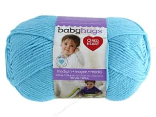 Clearance: Red Heart Baby Hugs Medium Yarn 247 yd. #4820 Sky