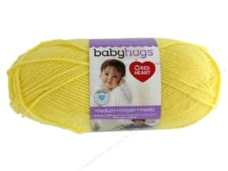 yarn & needlework: Red Heart Baby Hugs Medium Yarn 247 yd. #4201 Sunny