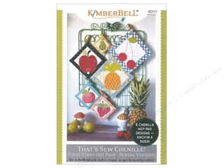 books & patterns: Kimberbell Designs That's Sew Chenille Fruit Stand Hot Pads Book