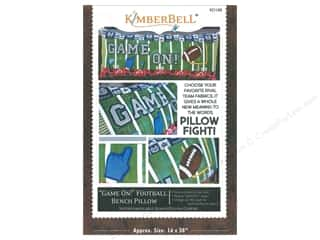 Kimberbell Designs Game On Football Bench Pillow Pattern