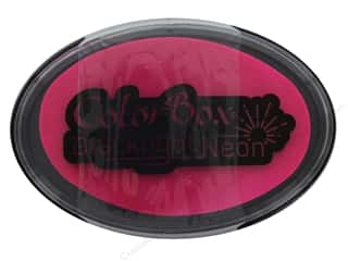 ColorBox Blacklight Neon Oval Ink Pad Pizzazz
