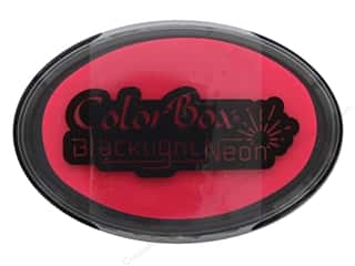 stamps: ColorBox Blacklight Neon Oval Ink Pad Hot Pink