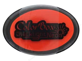 stamps: ColorBox Blacklight Neon Oval Ink Pad Blazing