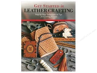 Clearance: Design Originals Get Started in Leather Crafting Book