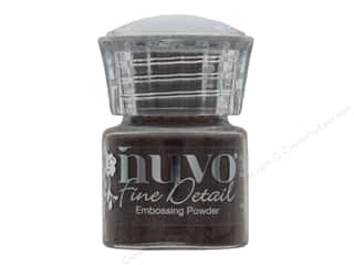 embossing powder: Nuvo Embossing Powder .68 oz Fine Detail Copper Blush