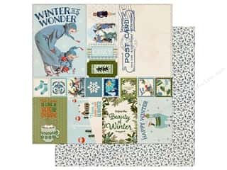 scrapbooking & paper crafts: Authentique Collection Alpine Paper  12 in. x 12 in.  Eight (25 pieces)