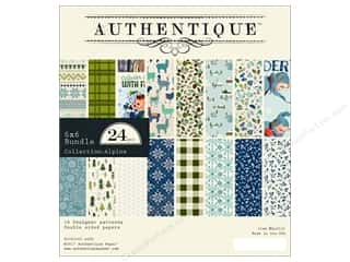Authentique 6 x 6 in. Paper Bundle Alpine