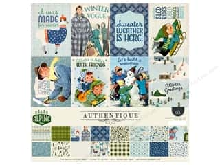 scrapbooking & paper crafts: Authentique Collection Alpine Collection Kit