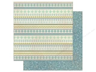scrapbooking & paper crafts: Authentique Collection Alpine Paper 12 in. x 12 in.  Five (25 pieces)