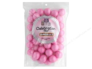 SweetWorks Celebration Gumballs 14 oz Stand Up Bag Shimmer Light Pink