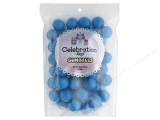 SweetWorks Celebration Gumballs 14 oz Stand Up Bag Royal