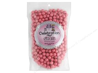 SweetWorks Celebration Sixlets 14 oz. Shimmer Coral