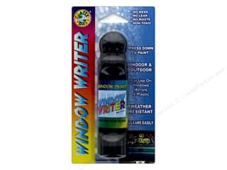 craft & hobbies: Crafty Dab Window Paint Writer 1.6 oz. Black
