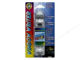 craft & hobbies: Crafty Dab Window Paint Writer 1.6 oz. Silver