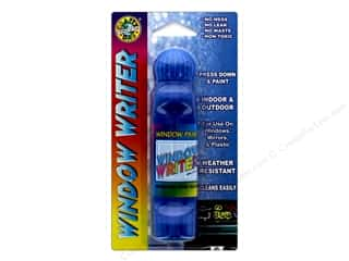craft & hobbies: Crafty Dab Window Paint Writer 1.6 oz. Blue