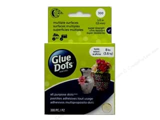Glue Dots All Purpose 1/2 in. 300 pc.