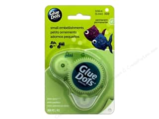 glues, adhesives & tapes: Glue Dots Dispenser Mini 3/16 in. 300 pc.