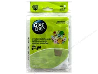 glues, adhesives & tapes: Glue Dots Sheet Mini 3/16 in. 252 pc.