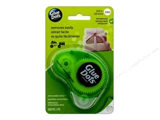 Glue Dots Dispenser Removable 3/8 in. 200 pc.
