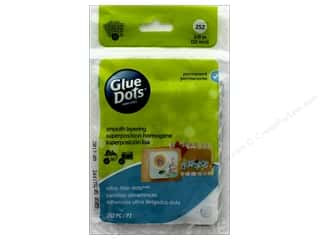 glues, adhesives & tapes: Glue Dots Sheet Ultra Thin 3/8 in. 252 pc.
