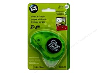 "Glue Dots Removable 3/8"" Dispenser 200 pc"