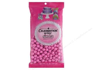 SweetWorks Celebration Sixlets 14 oz. Shimmer Pink