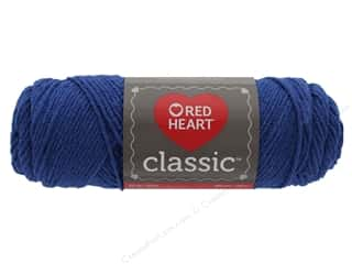 yarn & needlework: Coats & Clark Red Heart Classic Yarn 4 ply Dark Chambray