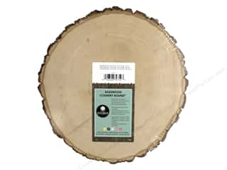 Walnut Hollow Basswood Country Round 9 - 11 in. Thick
