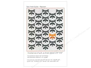 books & patterns: Sew Fresh Quilts Raccoon Pattern