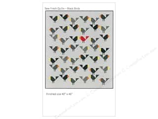 sewing & quilting: Sew Fresh Quilts Black Birds Pattern