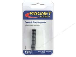 craft & hobbies: The Magnet Source Ceramic Disc Magnets 3/8 in. 15 pc.