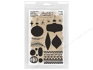 Clearance: Tim Holtz Idea-ology Christmas Foam Stamp
