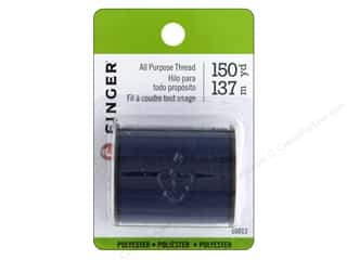 Singer Thread All Purpose Polyester 150 yd. Navy