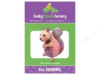 Funky Friends Factory Sue Squirrel Pattern