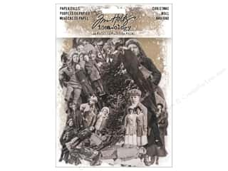 Tim Holtz Idea-ology Christmas Paper Dolls