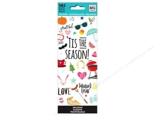 stickers: Me&My Big Ideas Sticker Value Pack Tis The Season