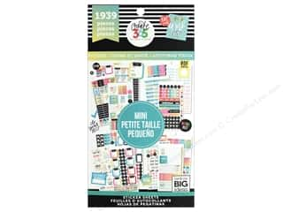 Me&My Big Ideas Happy Planner Sticker Value Pack Mini Fitness