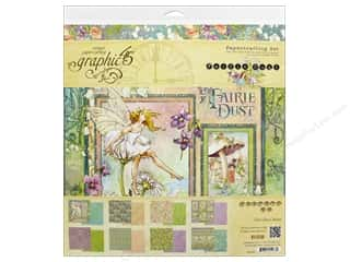 Graphic 45 Fairie Dust Collection Pack 12 in. x 12 in.