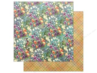 Graphic 45 Fairie Dust Paper 12 in. x 12 in. Moonlit Blooms (25 pieces)