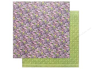 Graphic 45 Fairie Dust Paper 12 in. x 12 in. Violet Vale (25 pieces)