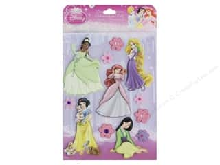 scrapbooking & paper crafts: EK Disney Dimensional Stickers Princess 1
