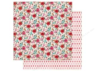 Authentique Lovestruck Paper 12 in. x 12 in.  Six (25 pieces)
