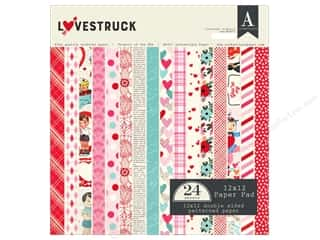 Authentique Lovestruck Paper Pad 12 in. x 12 in.