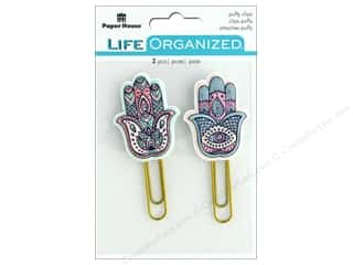 Paper House Life Organized Puffy Clips Hamsas