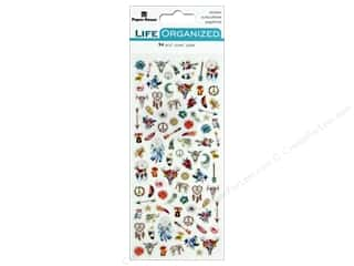 Paper House Collection Life Organized Sticker Micro Free Spirit