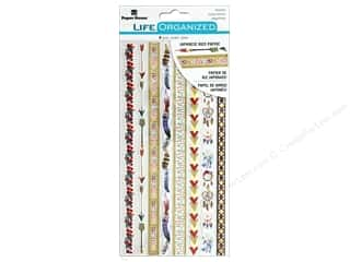 Clearance: Paper House Collection Life Organized Sticker Rice Paper Free Spirit