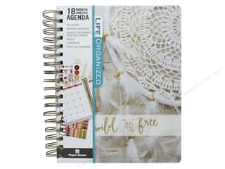 Paper House Collection Life Organized Planner 18 Month 2018 Free Spirit